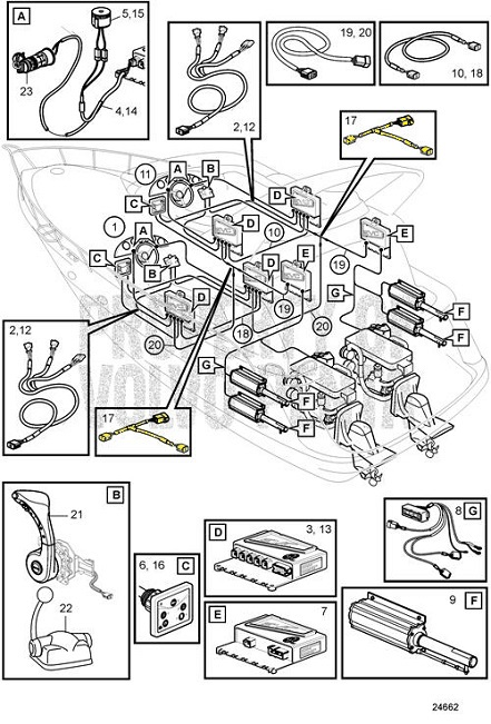 view en diagram upper m parts schematic penta exploded sx explodedview gearhousing volvo