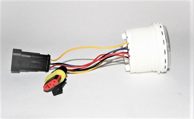 Volvo Penta Plug Style White 7 Alarm Instrument Gauge VP874927