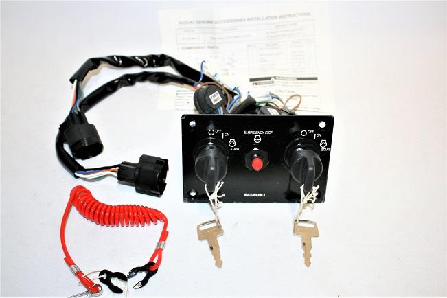 Suzuki Dual Engine Ignition Key Switch Panel 37100-96J10 ...