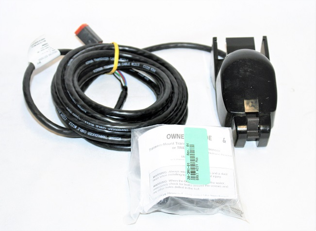 Garmin/Airmar P66 Transom Mount Transducer w/ Deutsch Style Plug 44-152-2-01