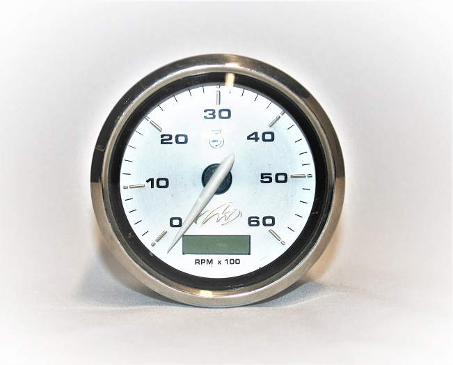 Tachometer With Hour Meter : Mechanical old model tachometer and stock footage video