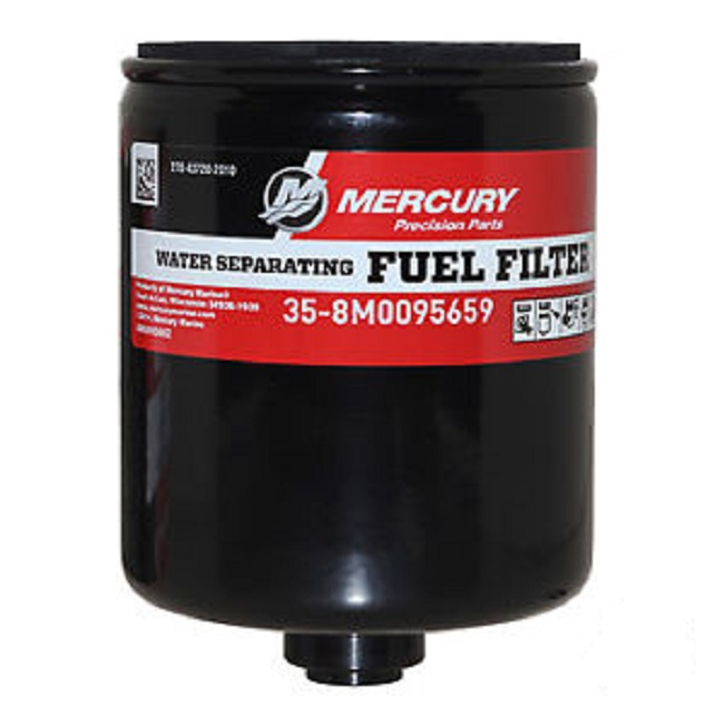 fuel/mercury marine water separating replacement fuel filter kit  